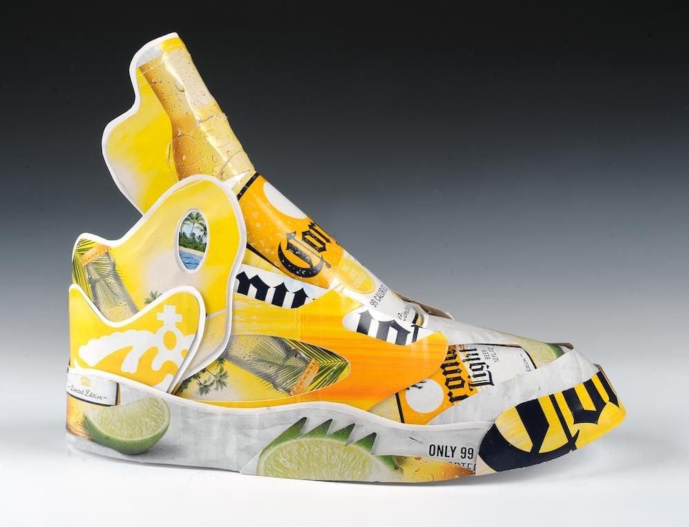 Artist Fashions Nike Air Jordan 5s From Trash