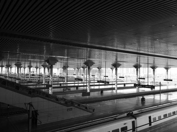 High-speed Railway Station Platform thumbnail