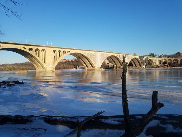 Frozen Potomac  thumbnail