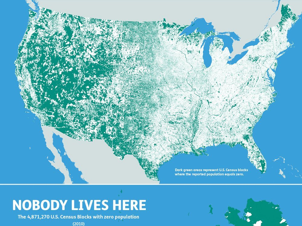 nobody lives here map