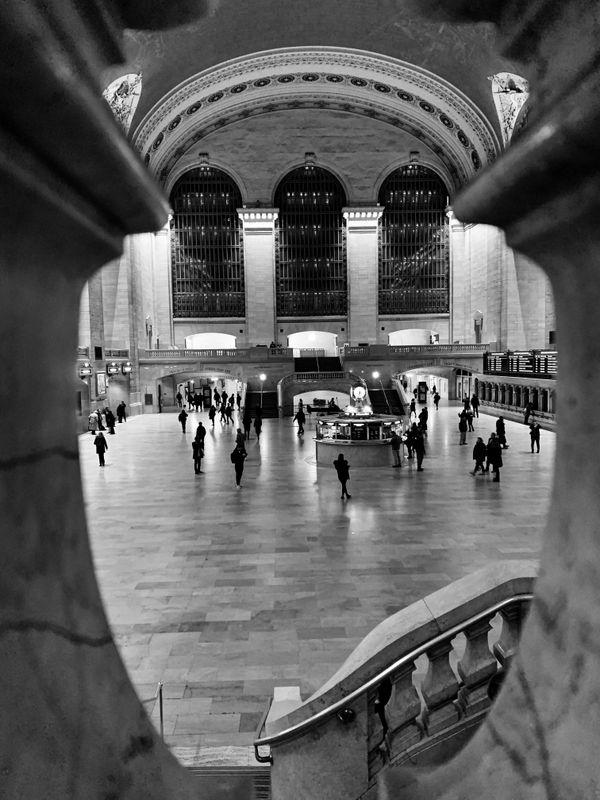 Grand Central B&W thumbnail