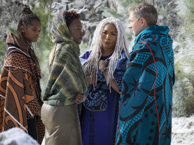 Costume designer Ruth Carter says she found inspiration in the tradition and costume of African peoples. She thrilled over Ndebele neck rings, Suri face paint, and Zulu headgear and blankets and asked her crew to stay true to these traditions.