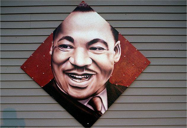 Martin Luther King Jr murals