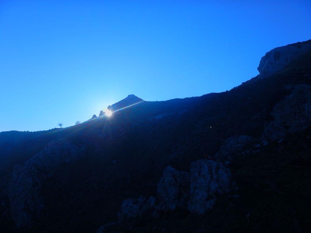 Equinox seen from the astronomic calendar of Pizzo Vento at Fondachelli Fantina, Sicily