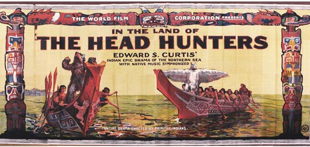 In The Land Of The Head Hunters film billboard