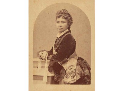 Queen Liliʻuokalani (above: circa 1891) became the first and only queen regnant of the Hawaiian Kingdom in 1891 and shepherded the country through a period of intense growth.
