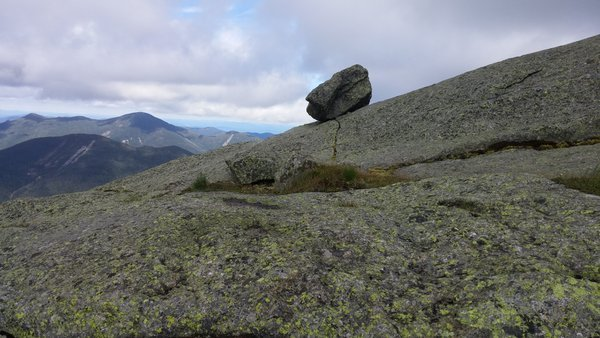 Lonely boulder atop Mt. Marcy,  Adirondack Mountains thumbnail