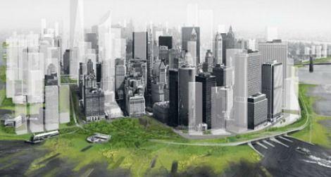 The greening of Lower Manhattan