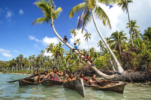 Sea Gypsy 'Coconut Game Park', Semporna Sabah thumbnail