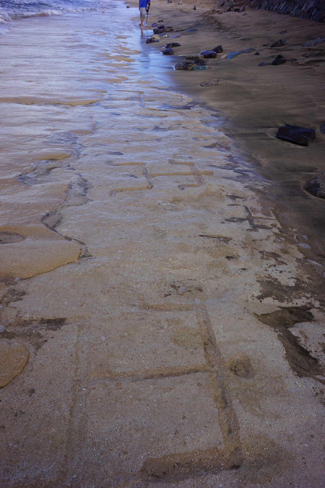 Tourists in Hawaii Accidentally Discovered Ancient Petroglyphs