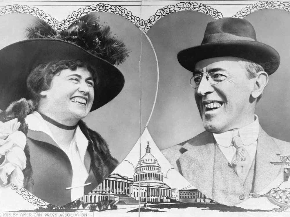 President and First Lady Wilson