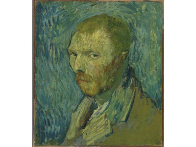 The contested 1889 self-portrait of Vincent van Gogh