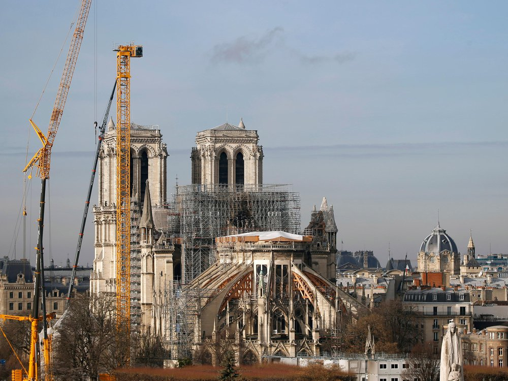 Notre-Dame Under Renovation