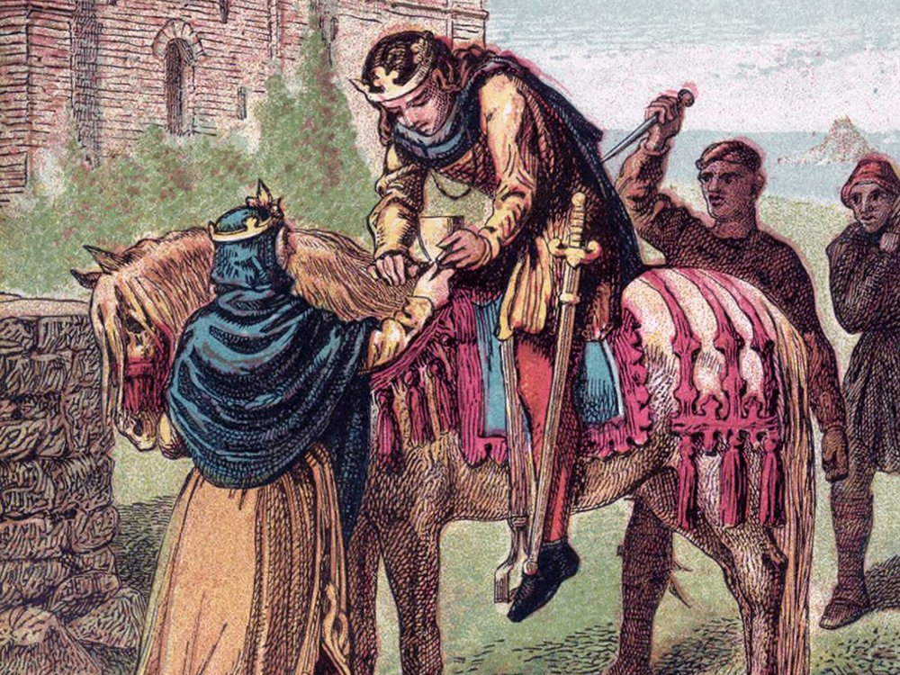 Ælfthryth, wife of Edgar, puts her plan of murdering Edward the Martyr into motion