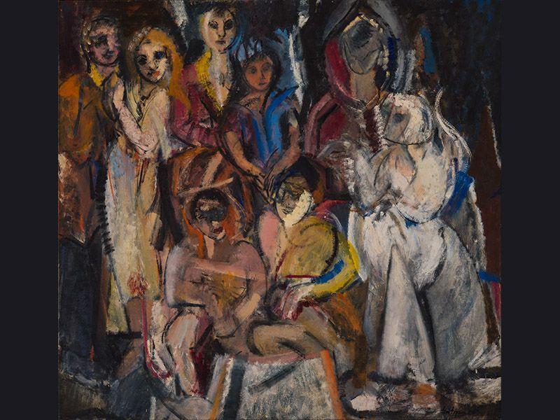 Grace Hartigan Painting