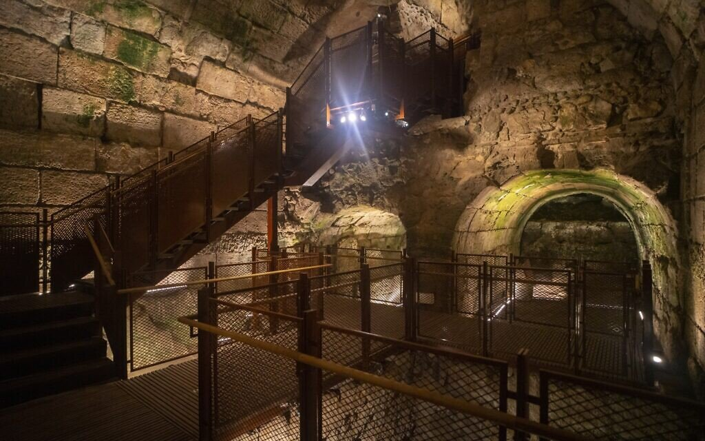 Palatial, 2,000-Year-Old Public Building Revealed in Jerusalem
