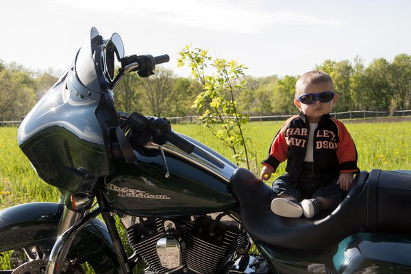 Jameson's first bike ride thumbnail