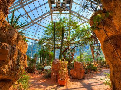 The Desert Pavilion at the Brooklyn Botanical Garden.