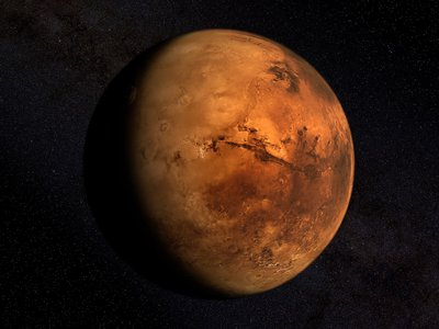 Life on Earth began to appear at least 3.5 billion years ago; by then, Mars had already lost much of its water into the crust or outer space.