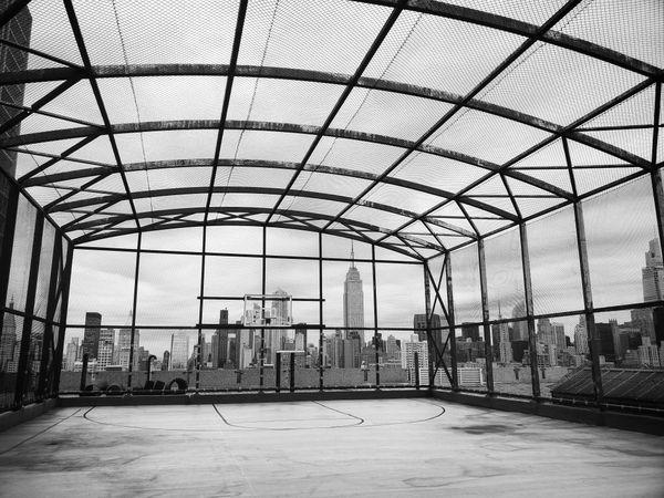 Bellevue Psychiatric Unit Rooftop Basketball Court thumbnail
