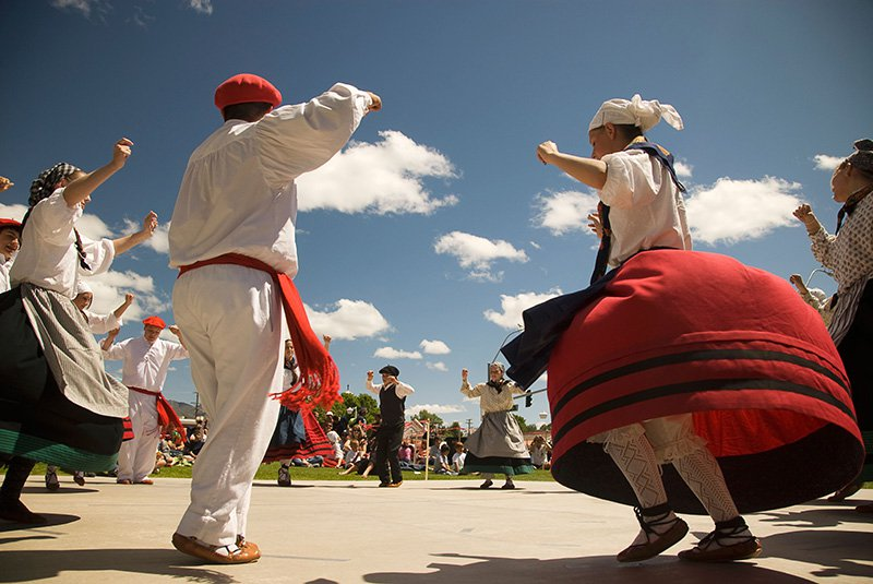Basque traditional dancers at Basque Festival in Winnemucca Nevada-resize.jpg