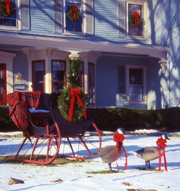 Winter Sleigh in Camden, Maine thumbnail