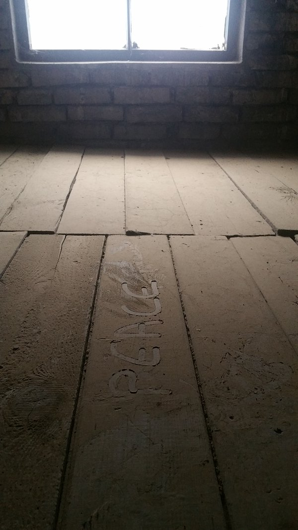 The only photo I took at Auschwitz.  thumbnail