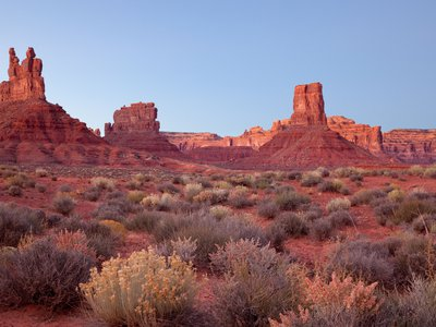 The Valley of the Gods offers one of the most solitary and serene experiences in the American West.