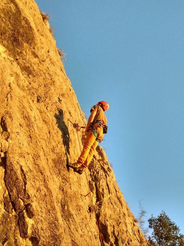 Climbing on the Blagaj's heat thumbnail