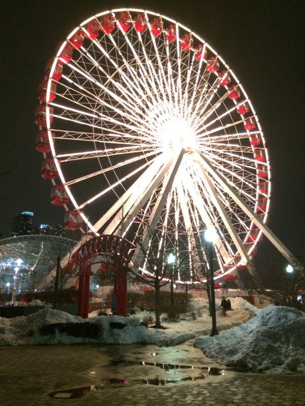 Navy Pier Chicago Ferris Wheel thumbnail