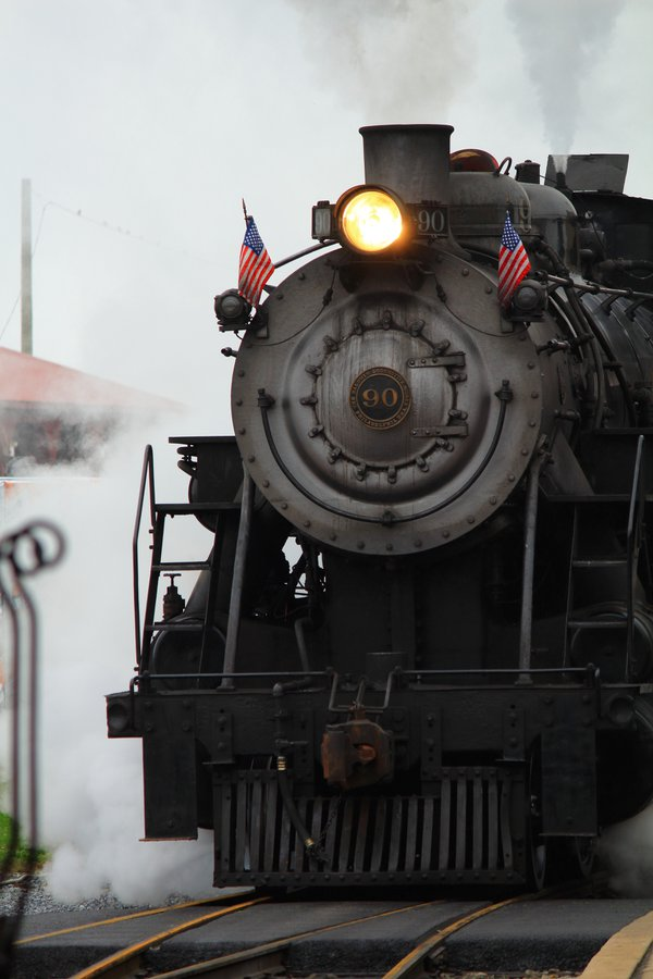 A restored and operating steam locomotive thumbnail