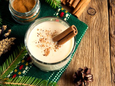 Eggnog is connected to a medieval drink called posset.