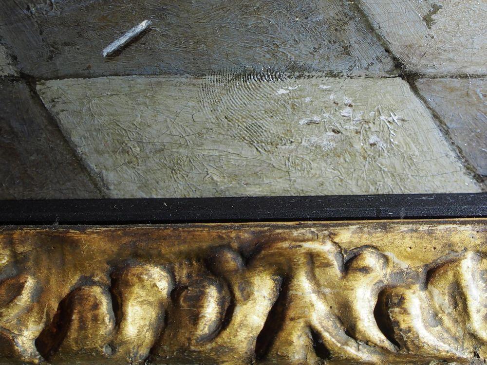 Detail Cardplayers in Sunlit Room de Hooch fingerprint