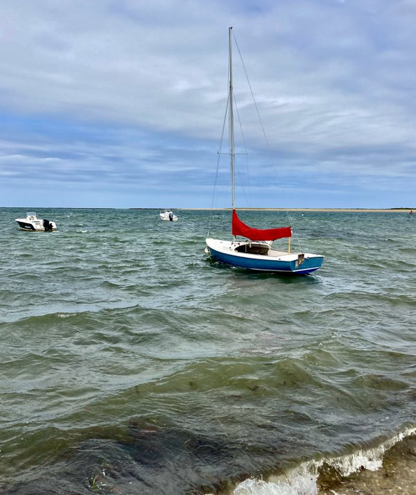 Jetties Beach Sailboat thumbnail