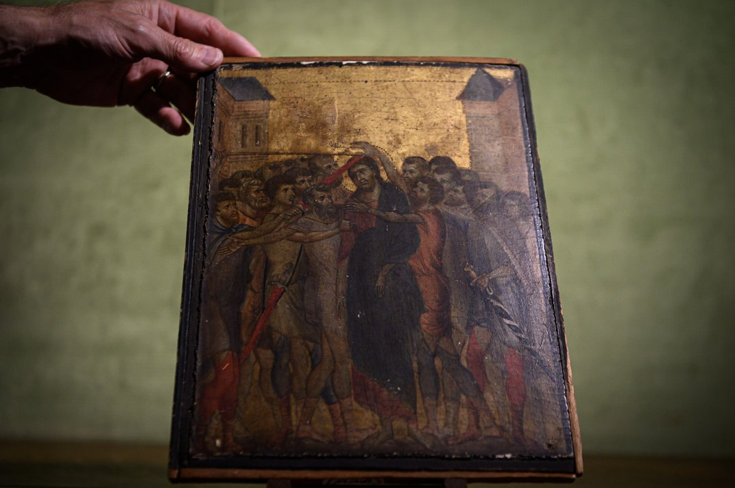 Lost Renaissance Masterpiece Found Hanging Above Woman's Hot Plate Sells for $26.8 Million