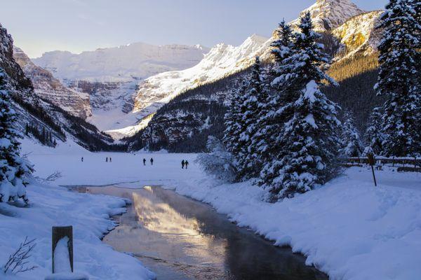 Lake Louise Winter Morning   thumbnail