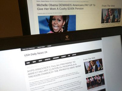 The proliferation of fake news sites this election year has led to many readers believing complete falsehoods.