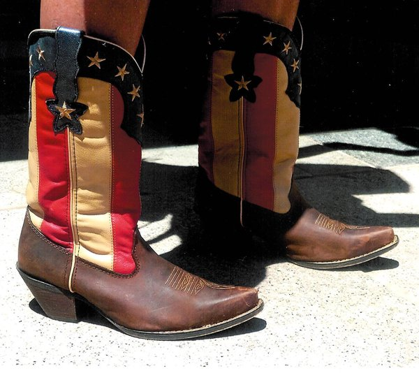 Patriotic Cowgirl Boots thumbnail