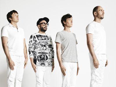 OK Go for launch: Andy Ross, Tim Nordwind, Damian Kulash Jr. and Dan Konopka