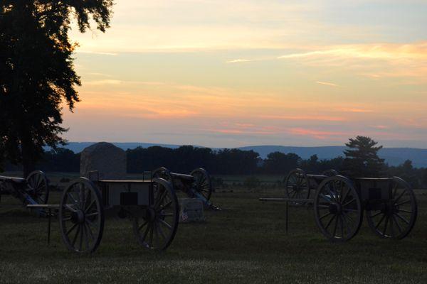 Sunset at Gettysburg thumbnail