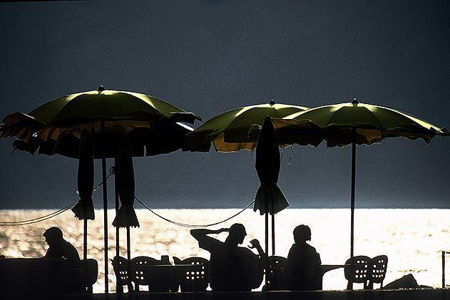 Vernazza beach Cinque Terre Italy
