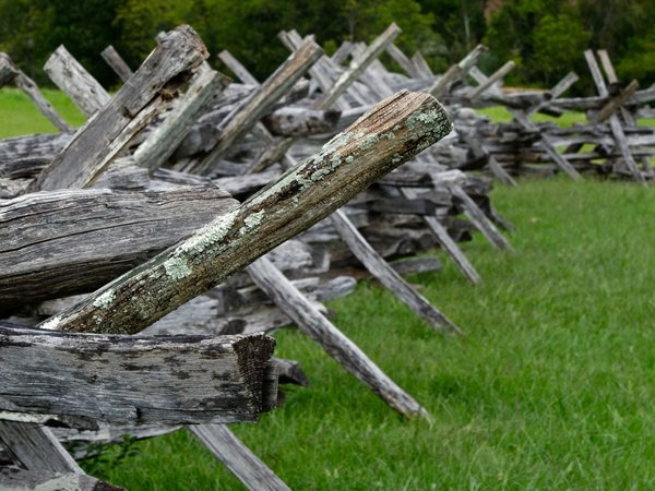 Civil War Replica Fence thumbnail