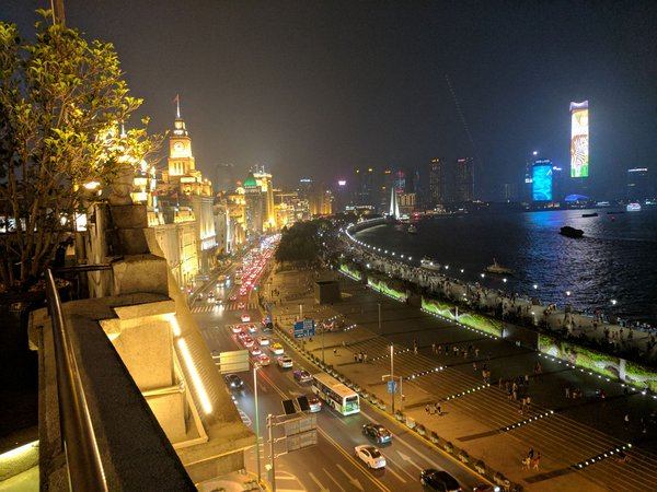 Summer evening on the Bund thumbnail