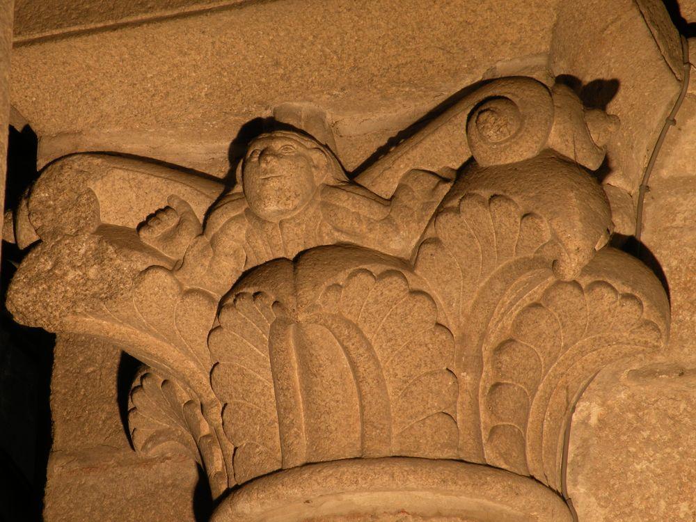 stonemason carving