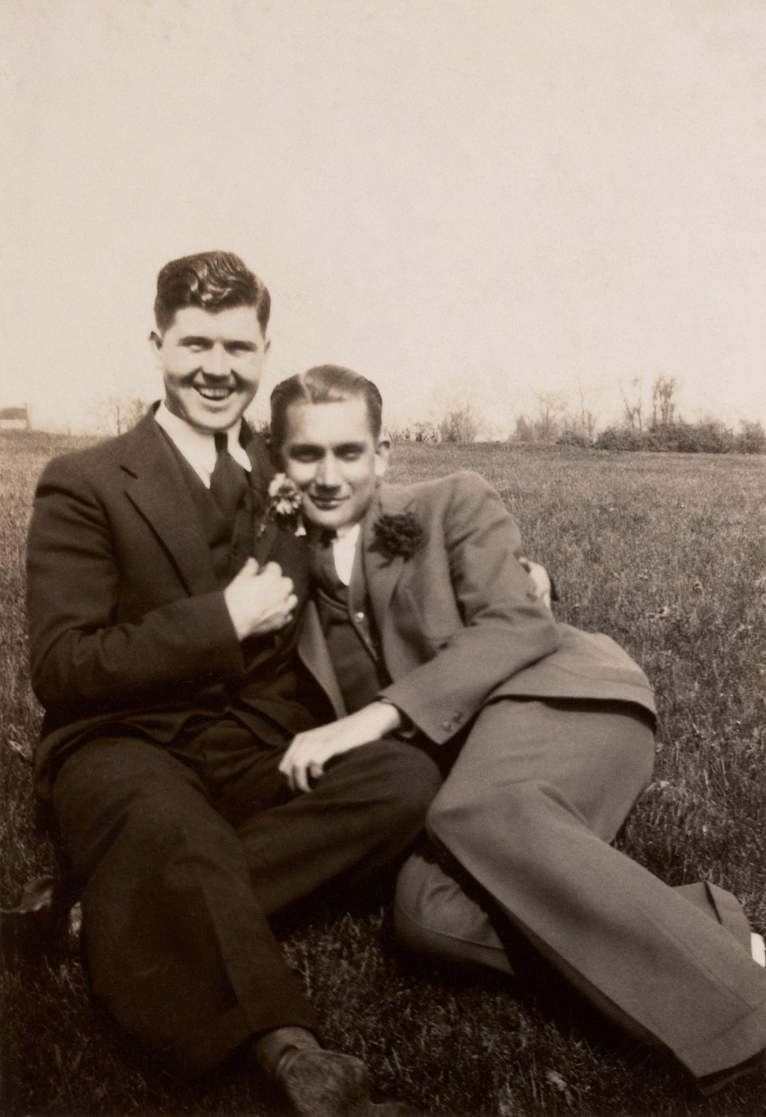 Newly Published Portraits Document a Century of Gay Men's Relationships