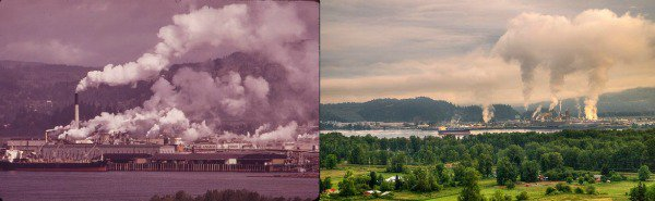 Before and After: America's Environmental History