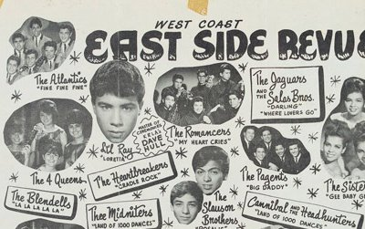 West Coast East Side Revue, Shrine Auditorium, Los Angeles, CA, Sunday February 21, 1965
