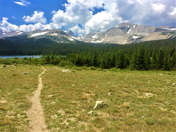 Brainard Lake, Colorado Rocky Mountains thumbnail