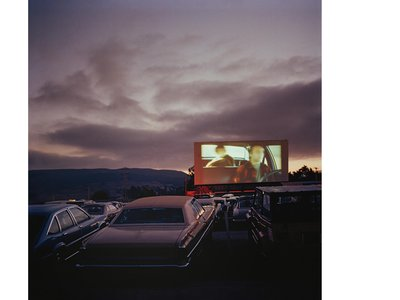 """Sunset Drive In, San Luis Obispo 7/25/1981 """"Let's hope young people today can get fascinated by the aura of that time,"""" Kappeler says."""