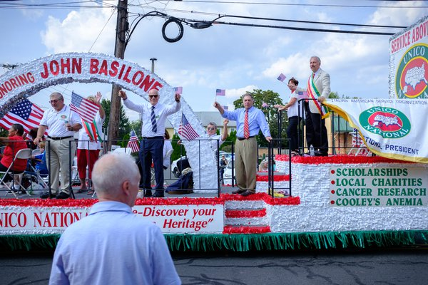 American Marine John Basilone parade thumbnail